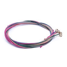 5X Set Rainbow Colorful Color String for Acoustic Guitar