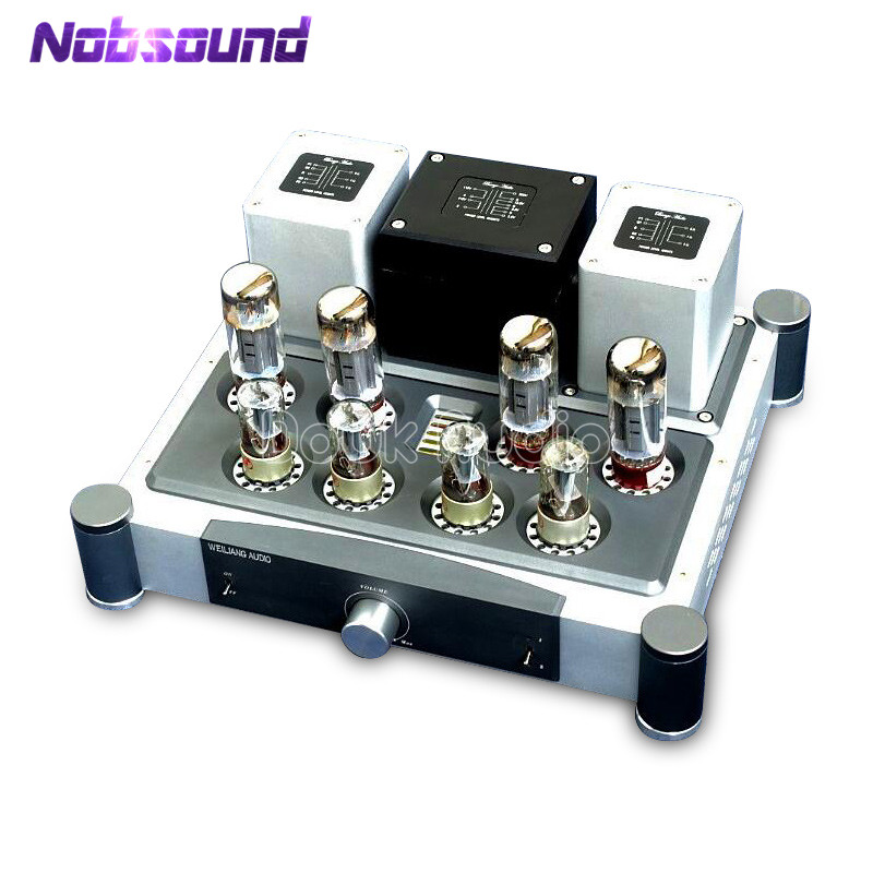 Hi-end PSVANE EL34 Vacuum Tube Push-Pull Integrated Amplifier Class A Hi-Fi Power Valve Amplifier 40W+40W hi end 300b valve