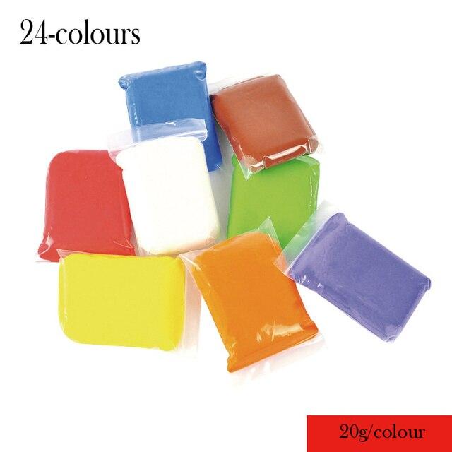 480g DIY Educational Toys Kids Colourd Clay Playdough Children Toys ...