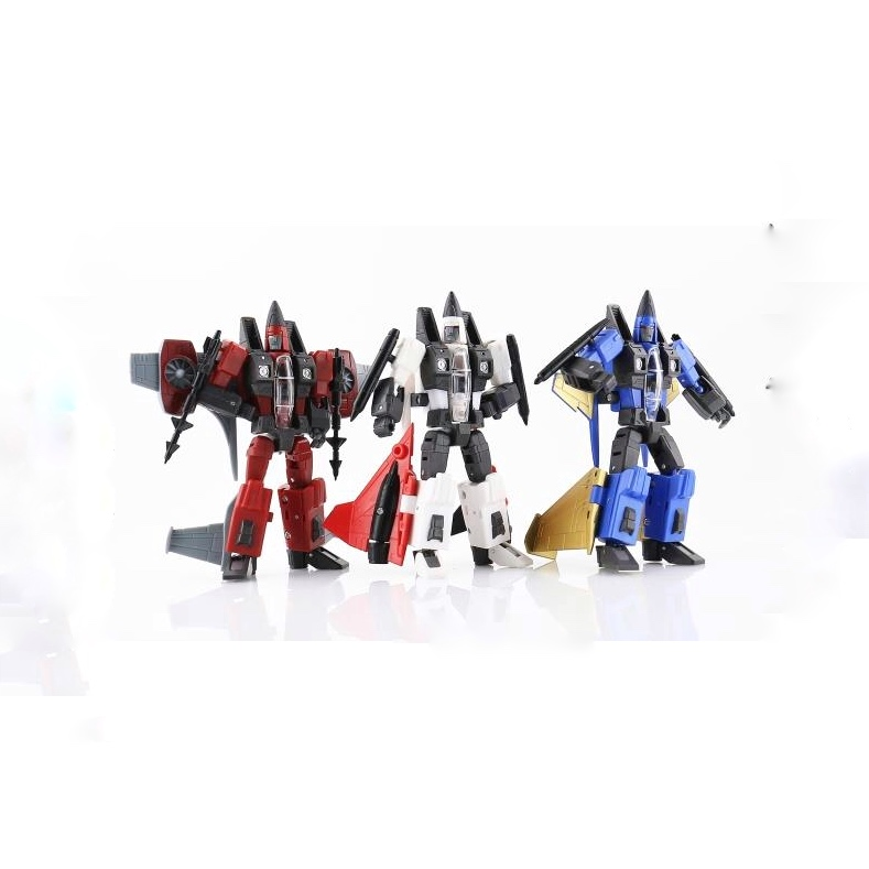 [Show.Z Store] DX9 TOYS War In Pocket X30 X32 X31 Conehead Set of 3 Transformation TF Action Figure цена