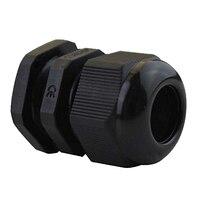 IMC Hot M20 x 1.5 Plastic Waterproof Cable Glands, Pack of 50 pcs Black