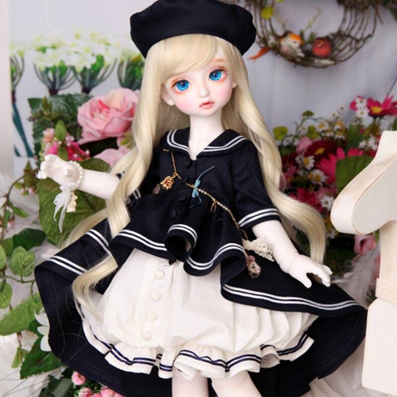 New pattern Luts baby Delf Rose bjd sd dolls 1/4 body