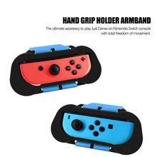 JYS 2pcs Gamepad Stand armband Hand Grip Holder armband For Nintend Switch Just-Dance 2 IN 1 Pack(China)