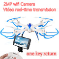 Mini drone Quadcopter Toys 4CH RC Helicopter No Camera Or With Camera Or Wifi FPV Camera 2.4G Headless  RTF Drone Wifi Real Time