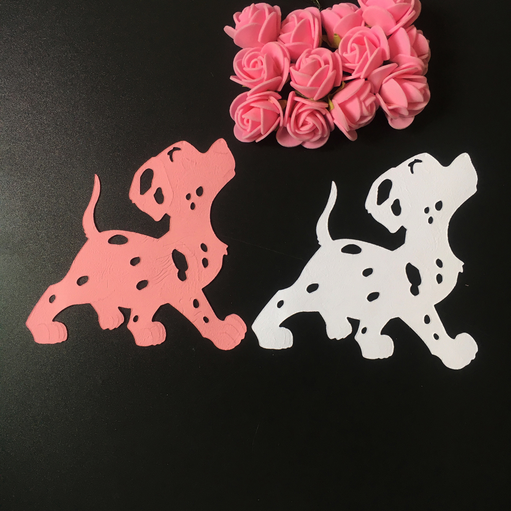 Scrapbook paper dogs - 2017 Dog Metal Cutting Dies Chinese Zodiac 12 Animals Scrapbook Card Album Craft Paper Home Decoration