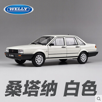 Volkswagen Santana welly FX GTA 1 18 Original simulation alloy car model toy Classic cars Best