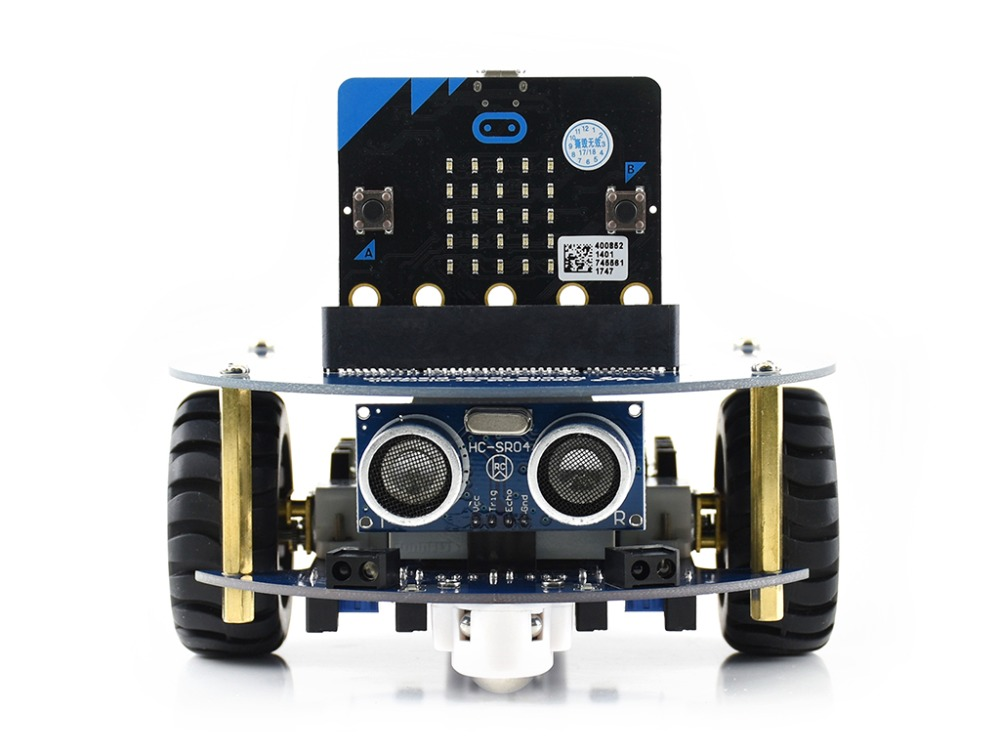 Waveshare AlphaBot2 robot building kit for micro bit Learning programming helper features line tracking obstacle avoiding