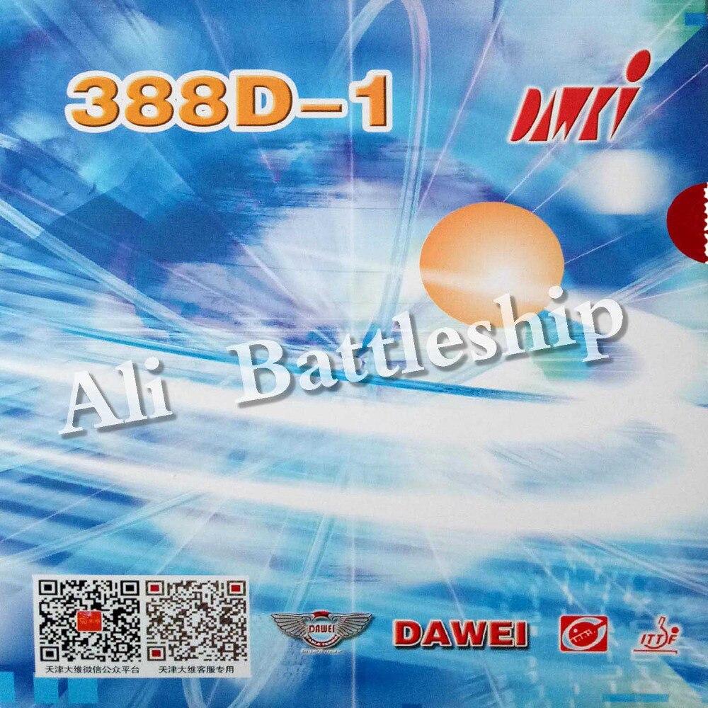 Originele Dawei 388D-1 lange pips-out tafeltennis pingpong rubber met spons