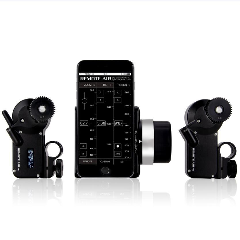 PDMOVIE PD3-P2 REMOTE air Pro Double dual two Channel motorized wireless follow focus for DSLR film lens
