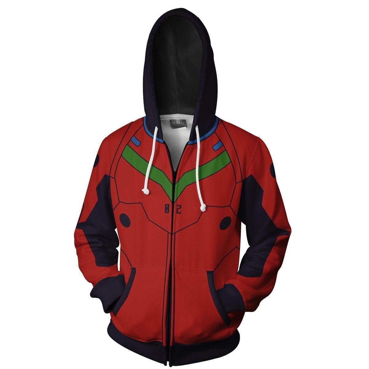HTB112ffXlGw3KVjSZFwq6zQ2FXai Jaqueta evangelion ayanami rei sweatshirts com capuz cosplay traje jaquetas homens casaco superior com zíper casual hoded