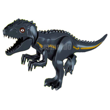 Jurassic World Dinosaur Raptor protection zone Building Blocks Kids Toys juguetes Legoings Park BKX77