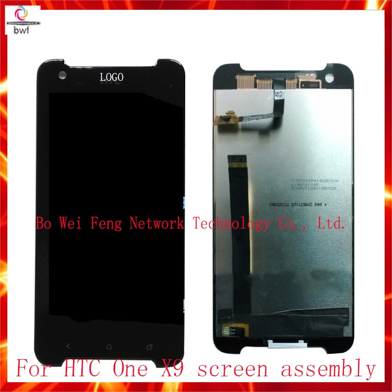 50Pcs/lot DHL High Quality Full LCD Display With Touch Screen Digitizer Assembly For HTC One X9 Replacement Parts Free Shipping 50pcs dhl high quality 5 0 full lcd