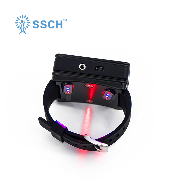 Laser Therapy Home wrist type laser watch Low frequency high blood pressure high blood fat high blood sugar diabetes therapy laser treatment machines for sale blood purifier low price phototherapy wrist type laser