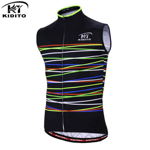 KIDITOKT Cycling Jerseys Vests Sleeveless Summer Mountain Bike Clothing Ropa  Maillot Ciclismo Men s Racing Bicycle Clothes a4d57ebf5