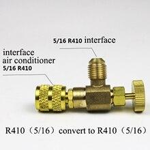 R22/R410 холодильное зарядное устройство адаптер для добавления жидкости аксессуары для домашнего холодильного оборудования для предохранительных клапанов Запчасти для обслуживания