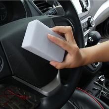 1 Pc magiczna gąbka samochodowe szkło czyszczenie samochodu narzędzie nanometr gąbka usuń plamy okno domu czyste gąbki tanie tanio