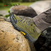 APTESOL Outdoor Waterproof Hiking Shoes For Man Clorts Men S Shoes Trekking Boots Non Slip Walking