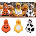 Baby Girl Halloween Costum Baby Boy Clothes Children`s  Winter Fleece Baby Rompers Body Baby Menina Newborn Overalls