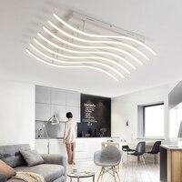 Современный светодиодный потолочный Люстра фонари для Гостиная Спальня украшения Освещение светильники AC85 265V светильник люстра лампа
