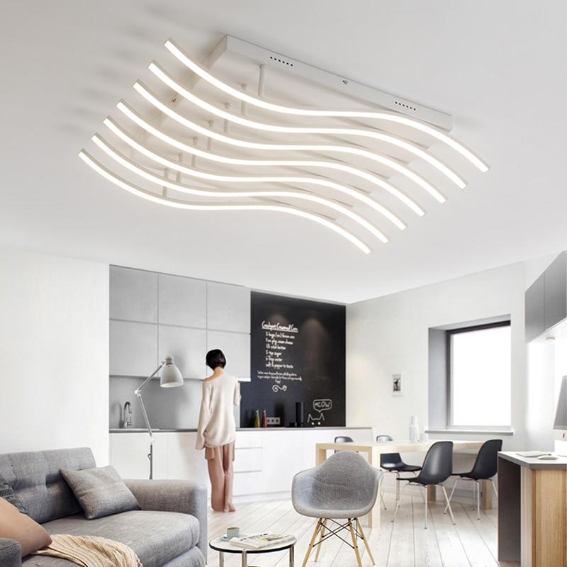 Modern Led Ceiling Chandelier Lights for Living Room Bedroom Decoration Lighting Fixtures AC85-265V Luminaire Chandelier lamp