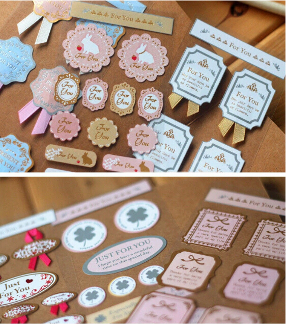 Aliexpress Buy DIY Decorative Paper Stickers For Wedding Decoration Scrapbook Craft Mixed
