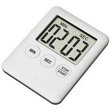 Simple 1pcs 5 Colors Super Thin LCD Digital Screen Kitchen Timer Square Cooking Count Up Countdown Alarm Magnet Clock X