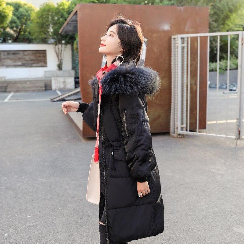 Vêtements Chaud Manteau Femmes Mode De En La Plus Femme Nouvelle Le Capuche red Lâche green black Taille Coton gray Ljj0074 White Vers Hiver Peluche Garder Col Bas Loisirs x1wqHAYx