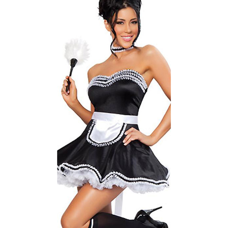 Petticoat Önlük Cosplay Hizmetçi 5