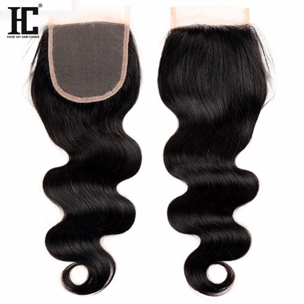 Mink 8A Brazilian Virgin Hair With Closure Body Wave 3 Bundles With Clsoure Human Hair Bundles With Closure Brazilian Body Wave  mink b