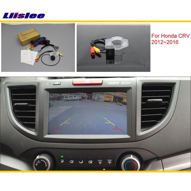 Liislee Voor Honda CRV C-RV (FB) 2012 ~ 2016 Auto Achteruitrijcamera - Auto-elektronica