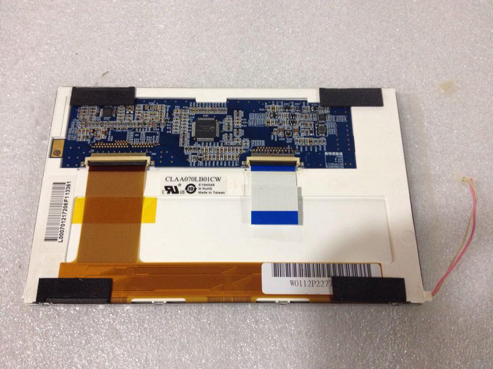 CLAA070LB01CW China 7 inch LCD flat panel display