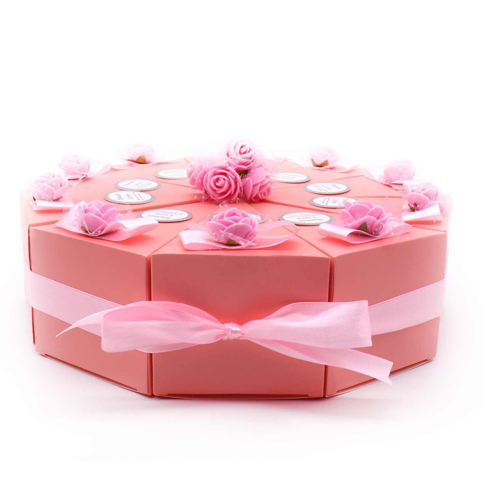 20Pcs/lot Wholesale Cake Shape Candy Gift Box /Romantic Wedding ...