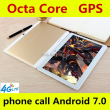 Buy online Hot New Tablets Android 7.0 Octa Core 128GB ROM Dual Camera and Dual SIM Tablet PC Support OTG WIFI GPS 4G LTE bluetooth phone