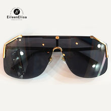 Mulheres Tamanho Grande Quadro Óculos De Sol 2018 de Moda de Alta Qualidade  Marca Designer Óculos De Sol UV400 Polarizada Quadra. 1598ae7a73