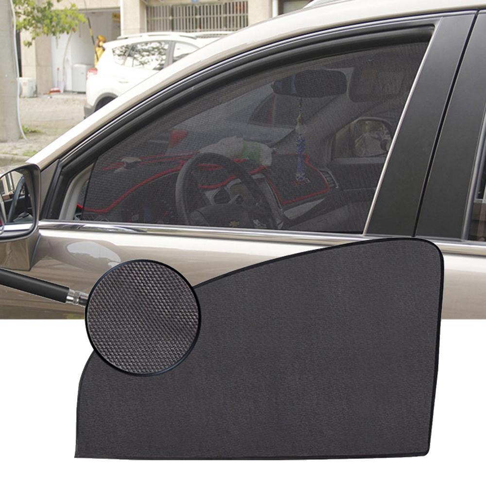 Car Summer Thickened Mesh Car Curtain Magnetic Sun Shade UV Protection Side Window Mesh Sun Visor Car Accessories