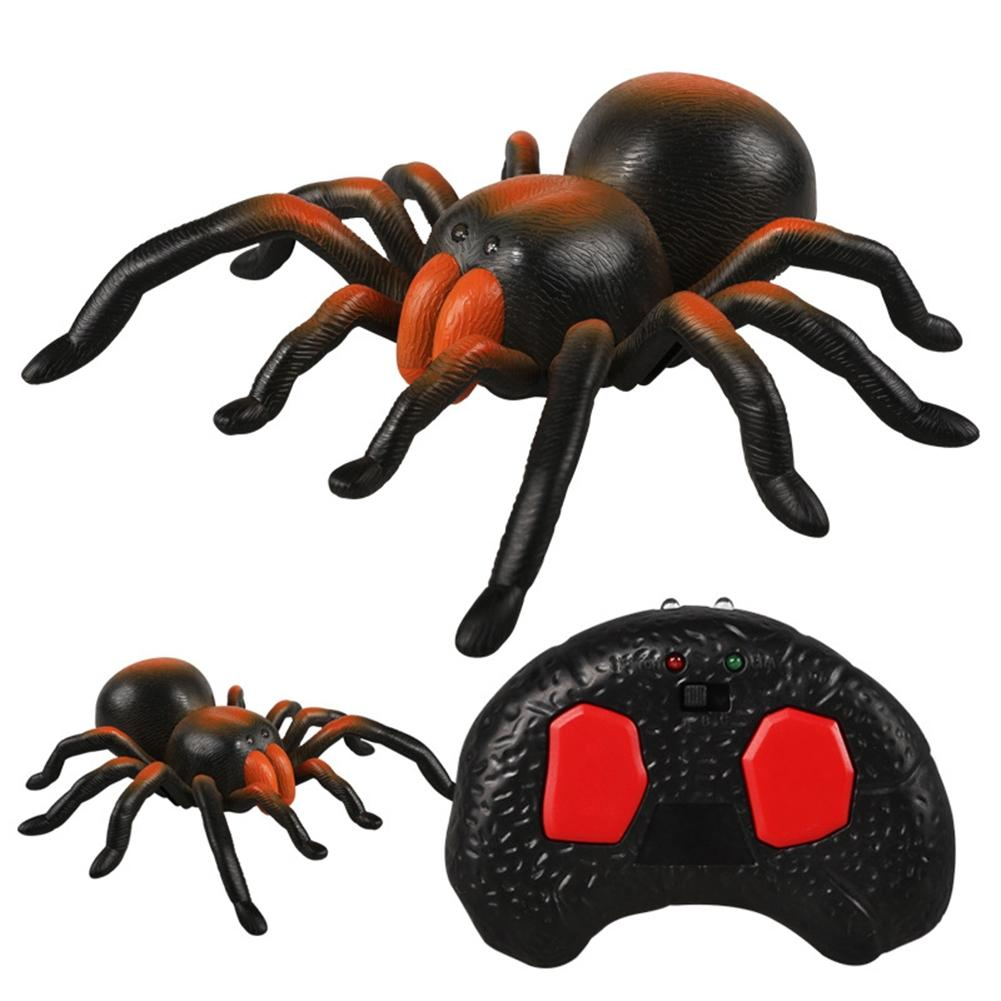 LeadingStar High Simulation Spider Toy Remote Control Interactive Toy Children/Teenager Funny Prank Tool zk30