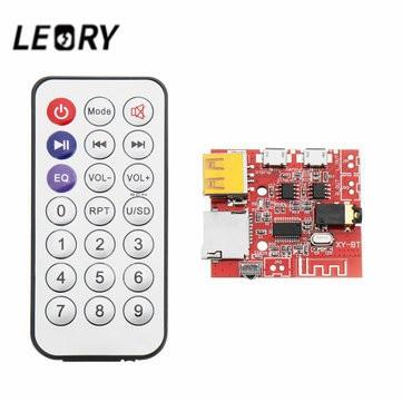 LEORY DC 3.7V-5V  3W Bluetooth 4.1 Decoder Receiver Module Board  MP3 Speaker Amplifier Audio