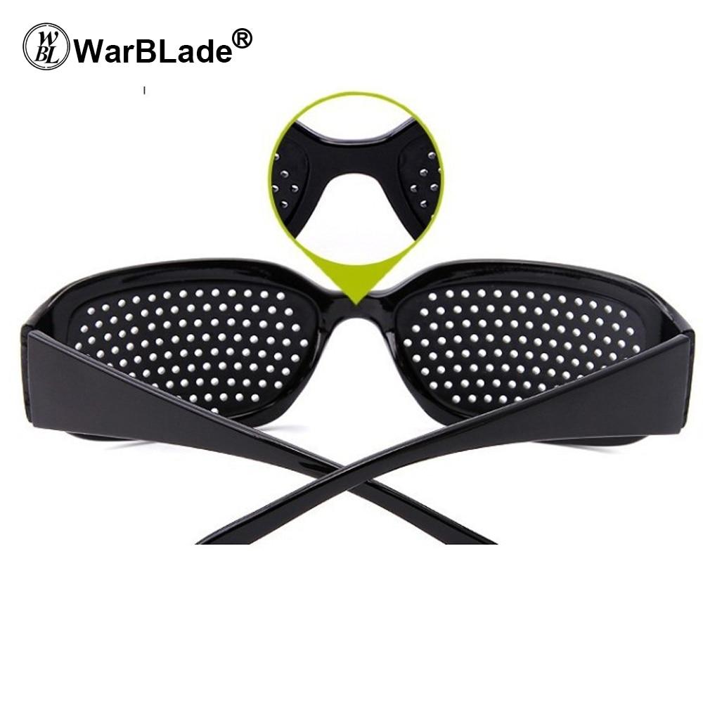 WarBLade Child Anti-myopia Glasses Women Vision Care Pin hole Sunglasses Eyesight Improve Natural Healing Anti-fatigue 4