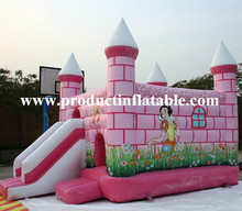 Attractive princess cheap bouncy castles for sale,cheap inflatable bouncers for sale
