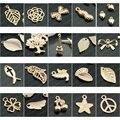 Envío Libre Al Por Mayor de La Mezcla Al Azar 15 de 20 Productos Champán Colgantes de Los Encantos de Aleación de oro de color Cada 6 unids Total 90 unidades (JM910)