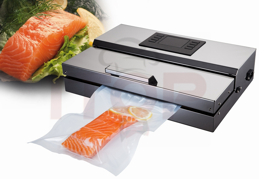 Machine Sous Vide Inox Food Processor Vacuum Sealer Packaging Machine commercial Vacuum Sealer EU Plug Stainless Steel Body fast food leisure fast food equipment stainless steel gas fryer 3l spanish churro maker machine