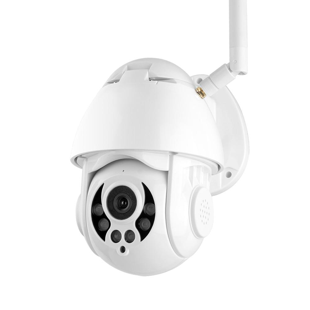 1080P WiFi PTZ IP Camera Face Detect Auto Tracking 4X Zoom Two way Audio P2P CCTV