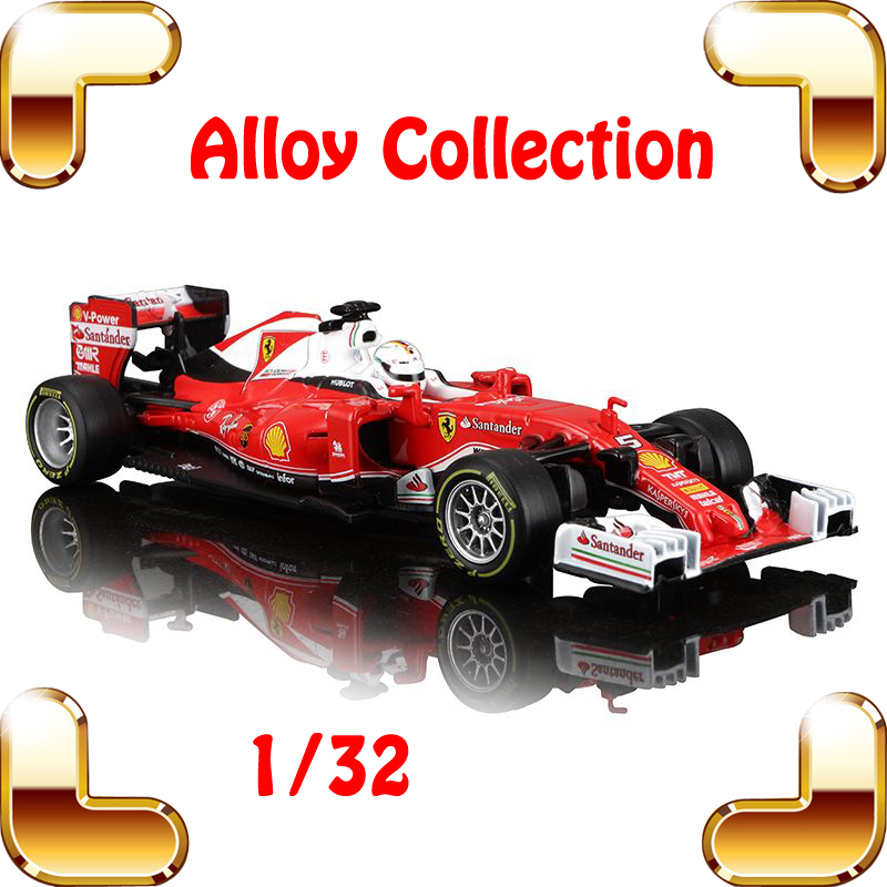 New Coming Gift SF16-H 1/32 Metal Model Mini Collection Car Racer Alloy Diecast Static Toys Car Present F1 Fans Show Decoration цена