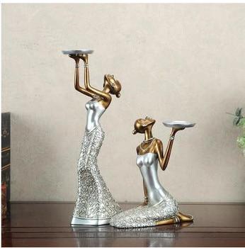 Creative retro beauty figure statue crafts, wedding decoration, home table decorations