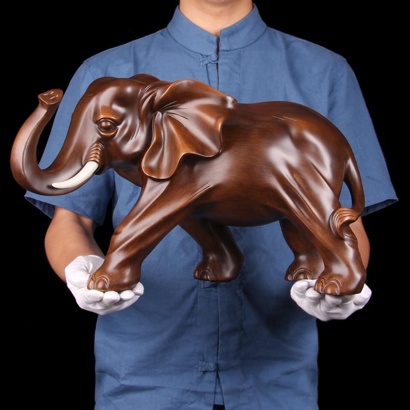 Invitando i soldi in il soggiorno di un elefante livi Elephant oscillare per regalo del vento ufficio animale statua della decorazione della casa da sposa