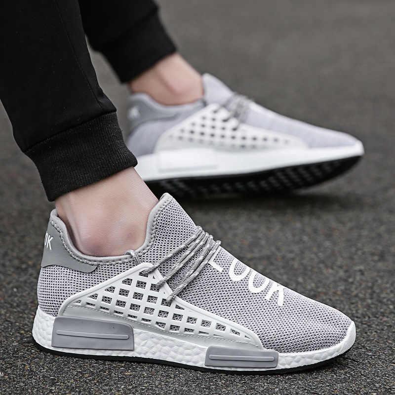 3cbae6410 shoes men 2018 new summer mens shoes Casual man Net cloth masculino human  race ultras boosts