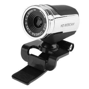 A7220a USB 2.0 HD High-definition Web Camera MIC Clip on 360 Degree Rotation with Microphone for Computer PC Laptop Desktop