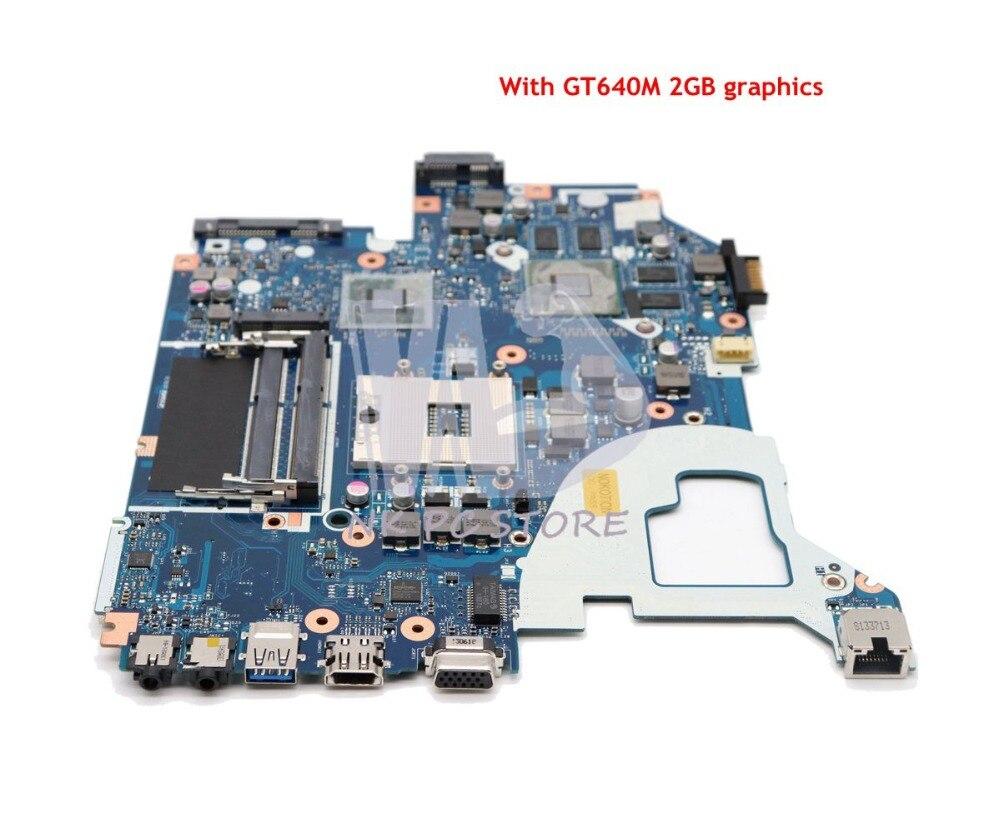 NOKOTION Para Acer aspire V3-571 V3-571G E1-571G Laptop Motherboard HM77 DDR3 NBRZP11001 Q5WVH LA-7912P GT640M 2GB