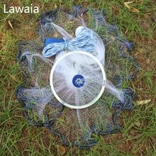 Lawaia Rubber Multifilament Line Fly Fishing Nets Catch Net Hand Throw Network