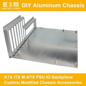 ITX ATX PC тестовая скамья с открытой рамкой DIY мод компьютер алюминиевый чехол с основанием материнская плата Overclock аксессуары